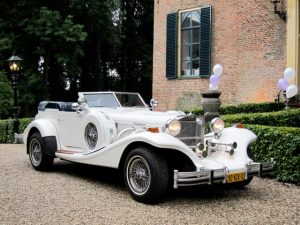 Klassiek trouwvervoer Gouda
