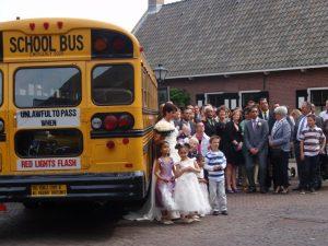 Bruiloft vervoer Breda